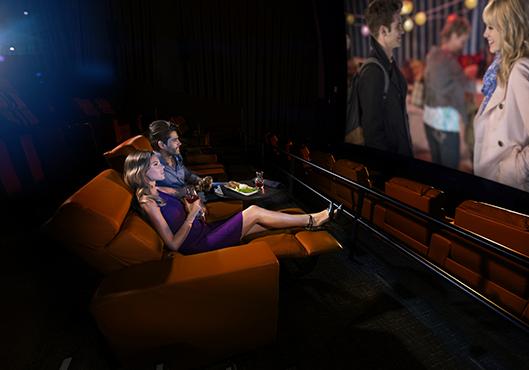 Luxury iPic movie theaters in North Bethesda
